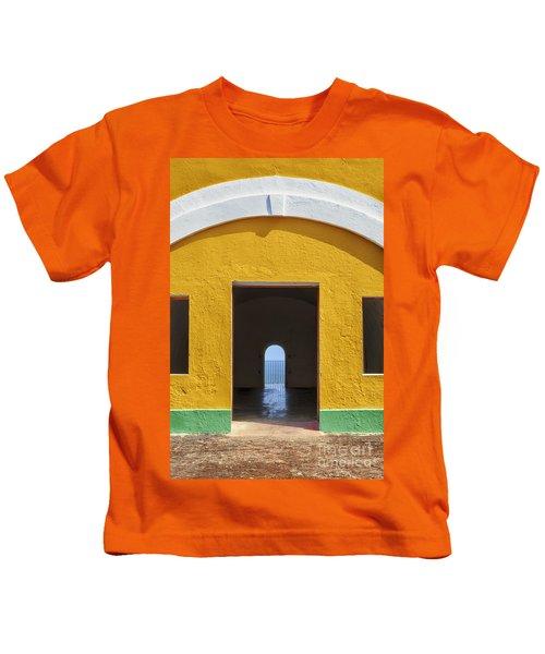 Fort Castillo San Felipe Del Morro Kids T-Shirt