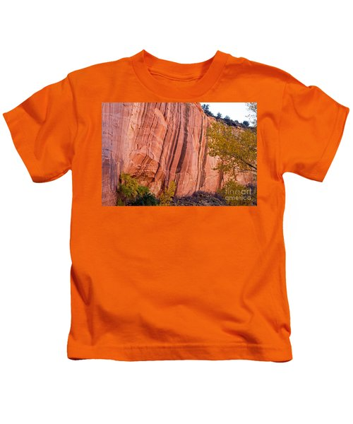 Fremont River Cliffs Capitol Reef National Park Kids T-Shirt