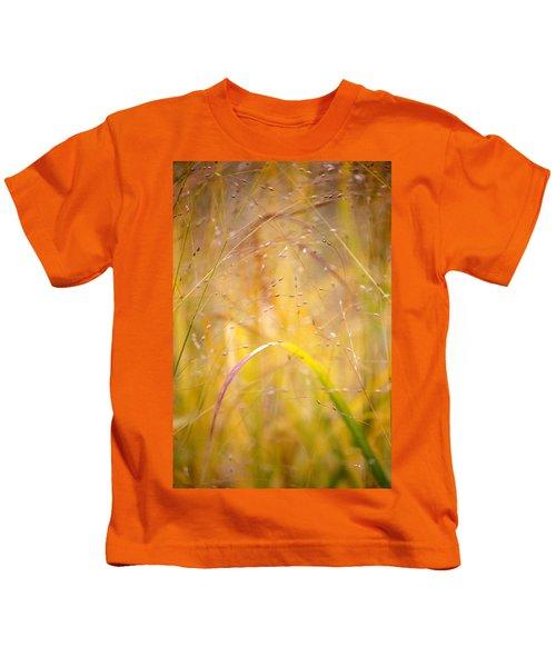 Golden Grass Kids T-Shirt