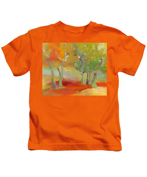 Green Trees Kids T-Shirt