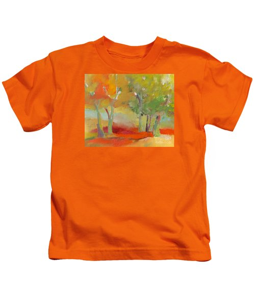 Green Trees Kids T-Shirt