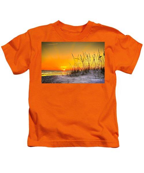 Gulf Sunset Kids T-Shirt