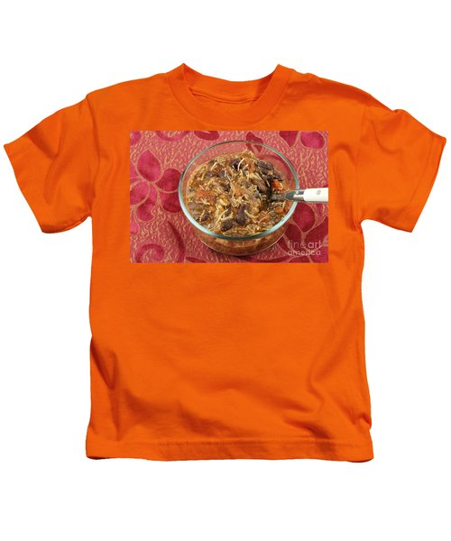 Hearty Chicken Chil Kids T-Shirt