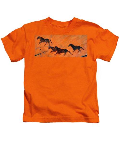 High Desert Horses - Study No. 1 Kids T-Shirt