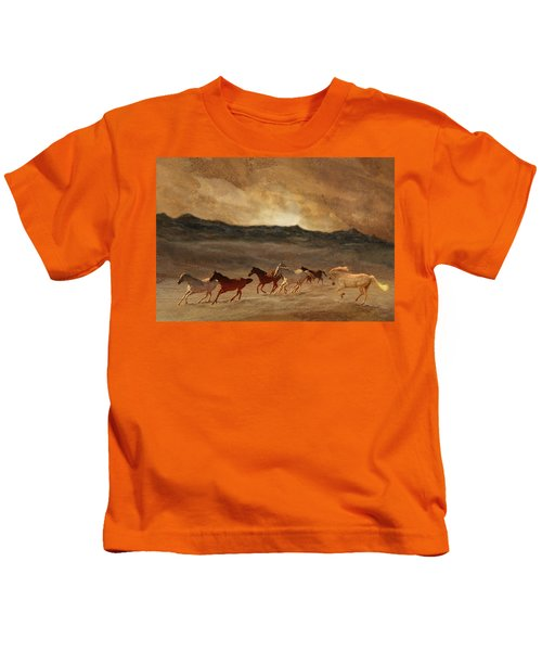Horses Of Stone Kids T-Shirt