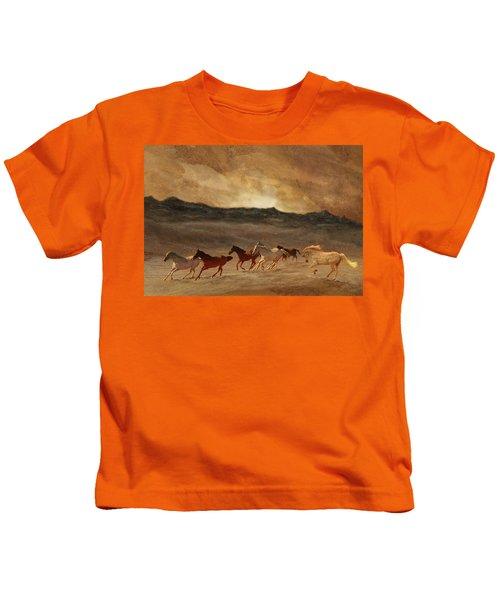 Horses Of Stone Kids T-Shirt