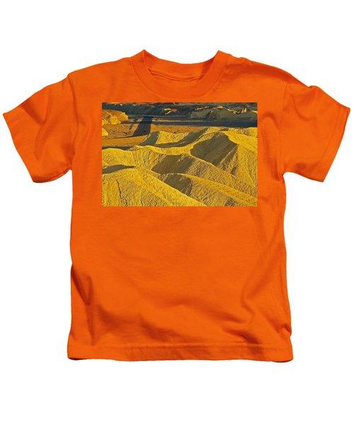 Leaving Zabriski Point Kids T-Shirt