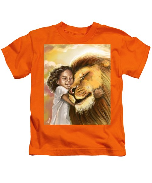 Lion's Kiss Kids T-Shirt