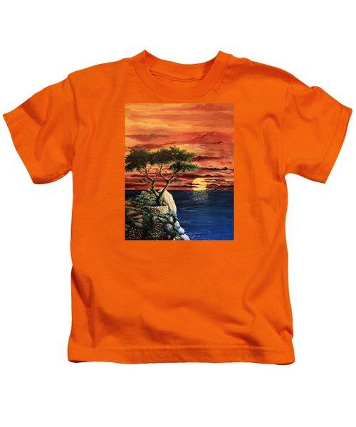 Lone Cypress Kids T-Shirt