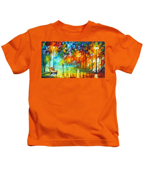 Lonely Stroll 3 Kids T-Shirt