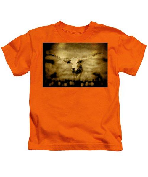 Longhorn Bull Kids T-Shirt