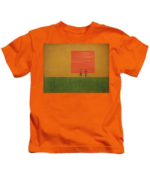 Man On The Brink Kids T-Shirt