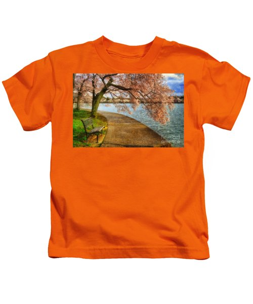 Meet Me At Our Bench Kids T-Shirt