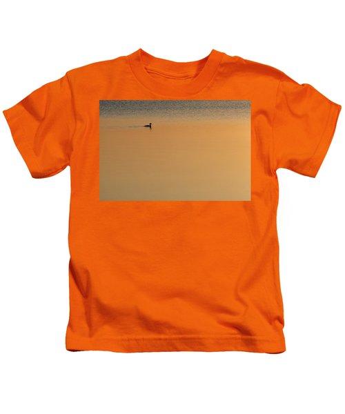 Merganser Duck, Cape Cod, Ma Usa Kids T-Shirt