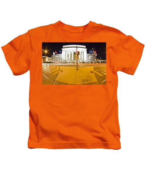 Midnight Train From Philly Kids T-Shirt