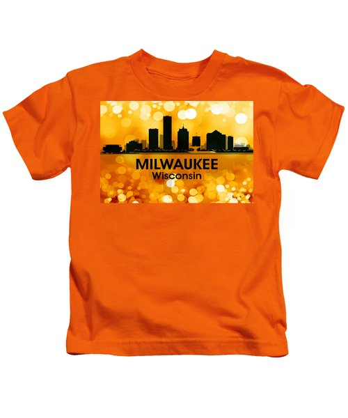 Milwaukee Wi 3 Kids T-Shirt