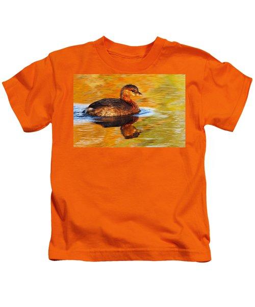 Monet Grebe Kids T-Shirt