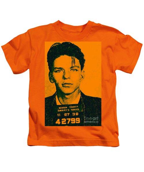Mugshot Frank Sinatra V1 Kids T-Shirt