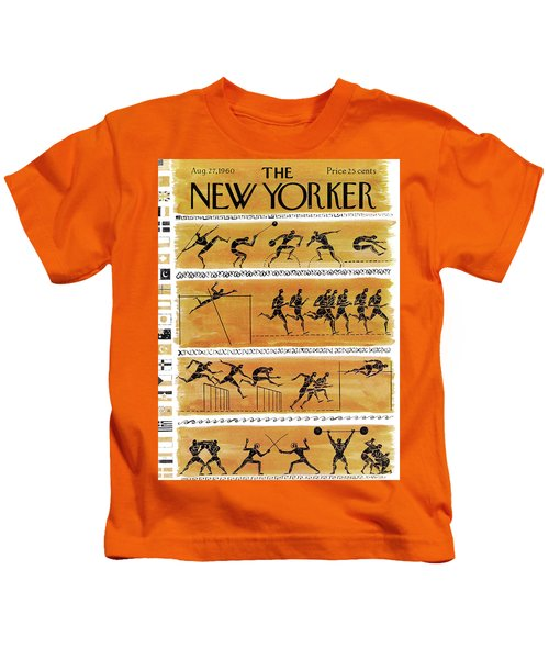 New Yorker August 27th, 1960 Kids T-Shirt