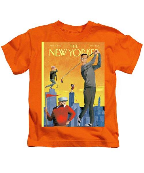 New Yorker June 10th, 1996 Kids T-Shirt