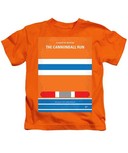 No411 My The Cannonball Run Minimal Movie Poster Kids T-Shirt