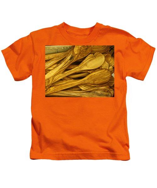Olive Wood Kids T-Shirt