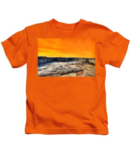 Orange Blaze Kids T-Shirt