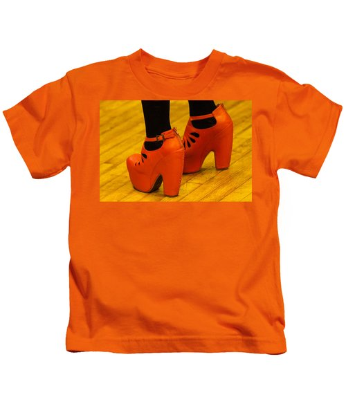 Orange Pair Kids T-Shirt