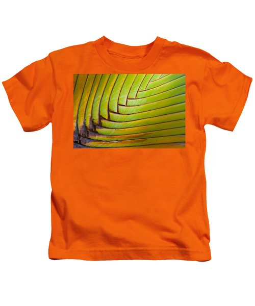 Palm Tree Leafs Kids T-Shirt