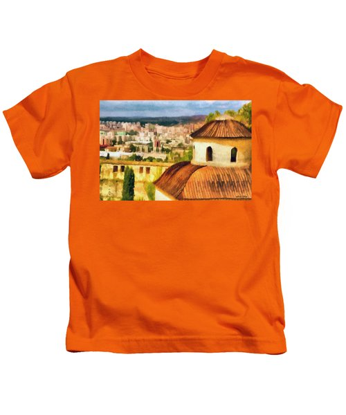 Pious Witness To The Passage Of Time Kids T-Shirt