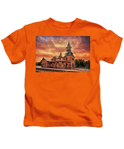 Point Of Rocks Train Station  Kids T-Shirt