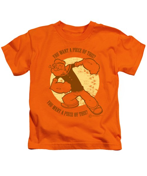Popeye - You Want A Piece Of This Kids T-Shirt