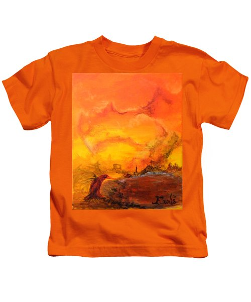Post Nuclear Watering Hole Kids T-Shirt
