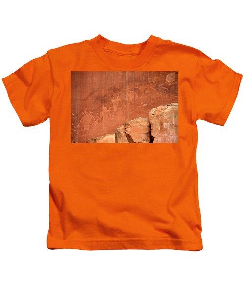 Rock Art Kids T-Shirt