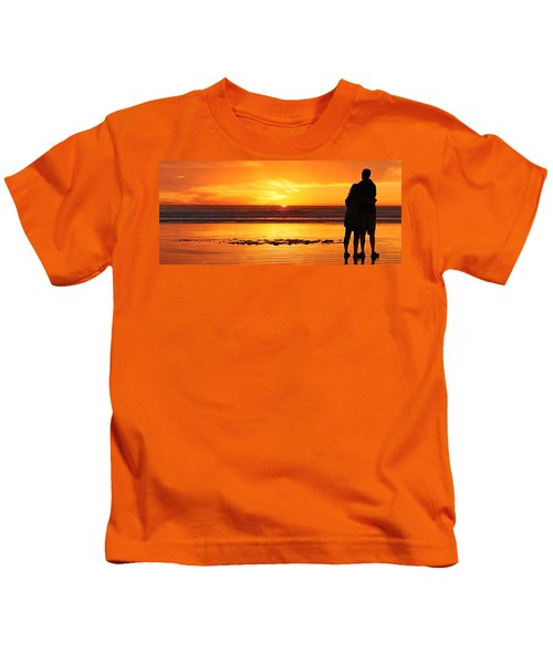 Romantic Sunset  Kids T-Shirt