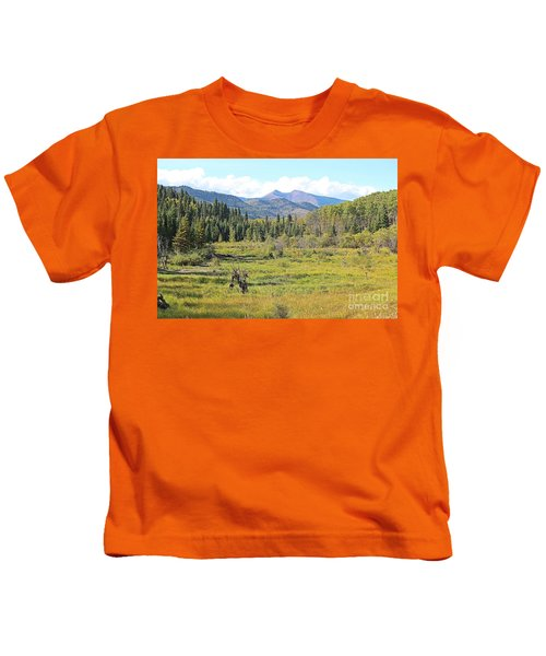 Saddle Mountain Kids T-Shirt