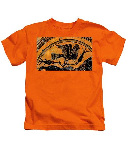 Siren With Lotus Buds - Detail No. 1 Kids T-Shirt