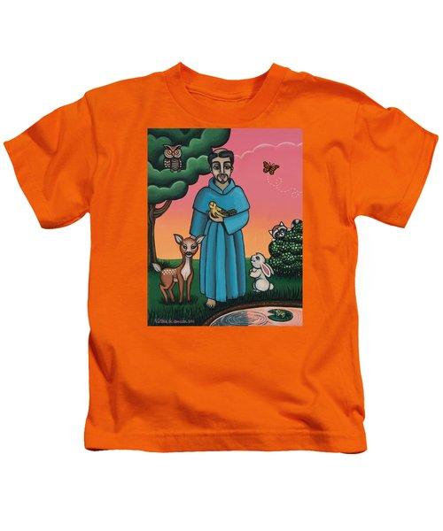 St. Francis Animal Saint Kids T-Shirt