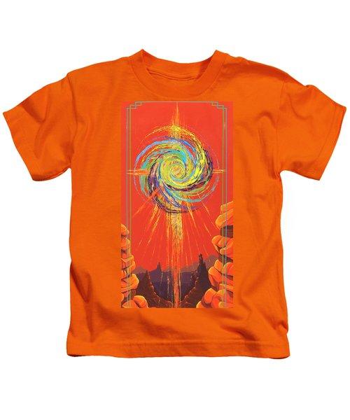 Star Of Splendor Kids T-Shirt