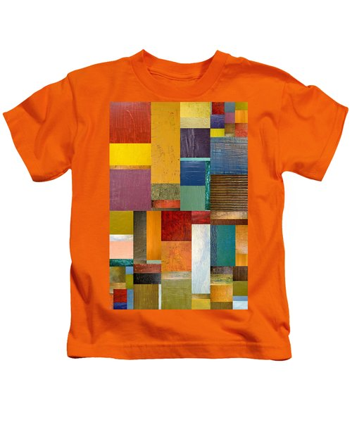 Strips And Pieces Ll Kids T-Shirt