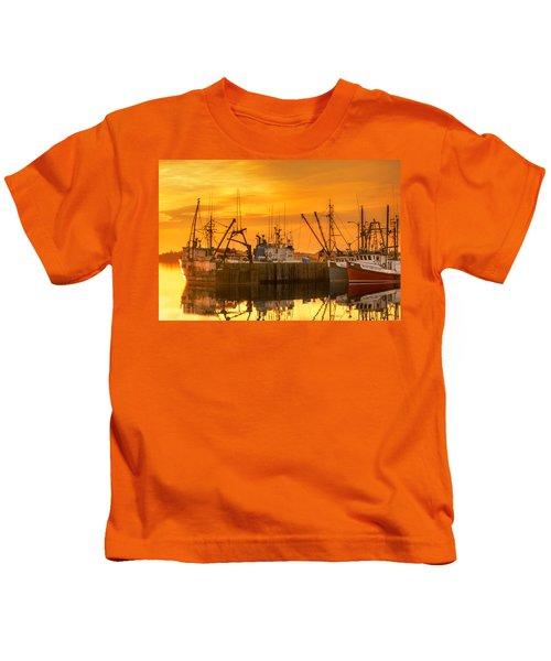 Summer Nights Kids T-Shirt