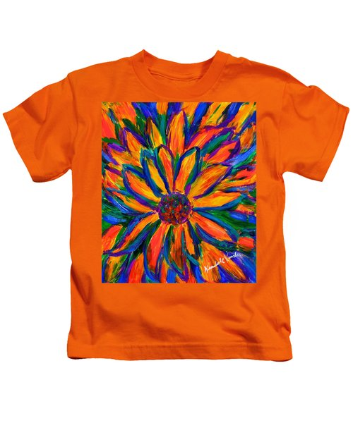 Sunflower Burst Kids T-Shirt