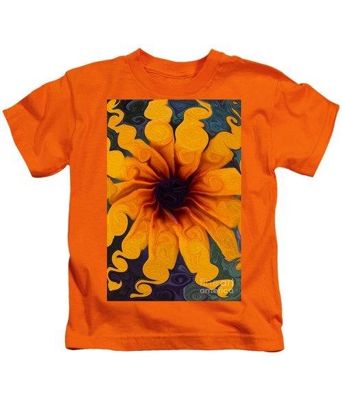 Sunflowers On Psychadelics Kids T-Shirt