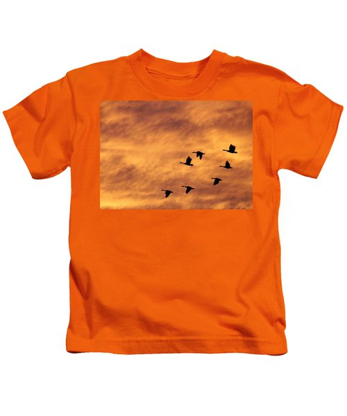 Sunrise Flight 2 Kids T-Shirt