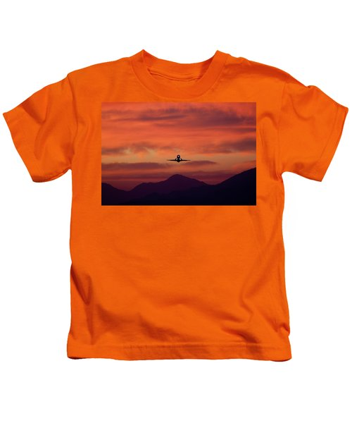 Sunrise Takeoff Kids T-Shirt