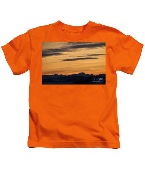 Sunset From 567 Kids T-Shirt