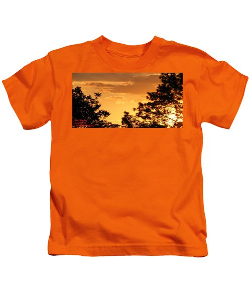Sunset Sonata 2 H A Kids T-Shirt