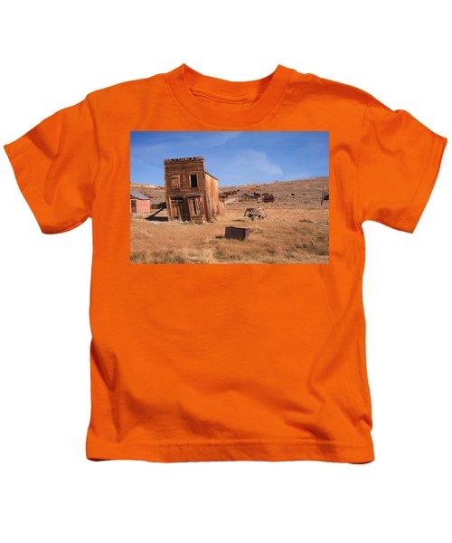 Swazey Hotel Bodie Ghost Town Kids T-Shirt