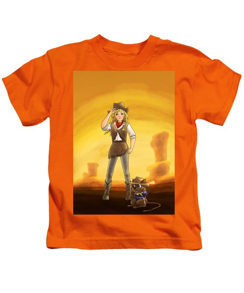 Tammy And Alfred Tame The West Kids T-Shirt