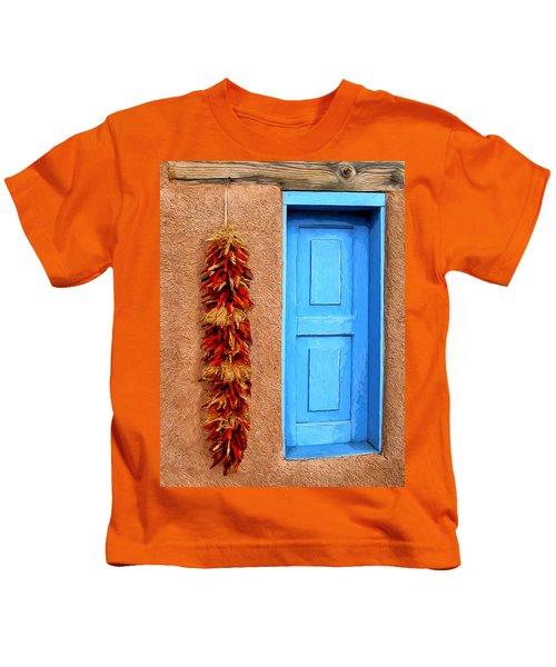 Taos Blue Door Kids T-Shirt